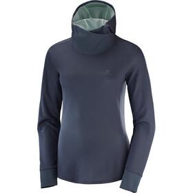 Salomon Agile - T-shirt manches longues running Femme - bleu